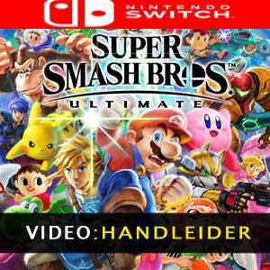 Super Smash Bros Ultimate Nintendo Switch videotrailer
