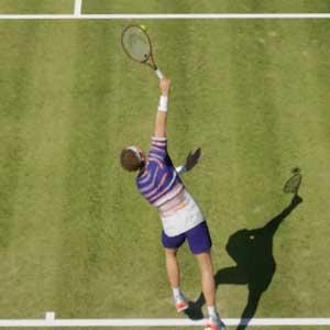 Tennis World Tour 2 grasveld