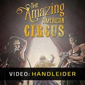 The Amazing American Circus Video-opname
