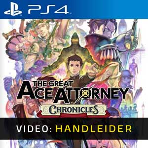The Great Ace Attorney Chronicles PS4 Video-opname