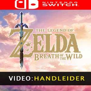 The Legend of Zelda Breath of the Wild Nintendo Switch - Videotrailer