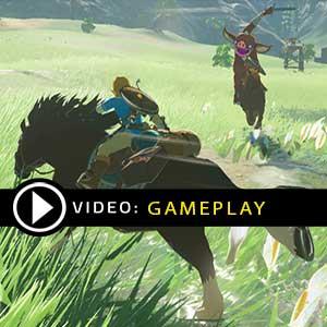 The Legend of Zelda Breath of the Wild Wii U Gameplay Video
