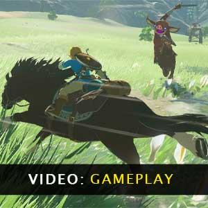 The Legend of Zelda Breath of the Wild - Video Gameplay