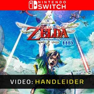 The Legend of Zelda Skyward Sword HD Nintendo Switch Video-opname