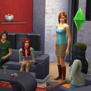 Sims 4 met vrienden