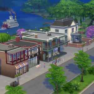 Sims 4 De Buurt