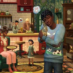 The Sims 4 Cottage Living - Konijntjes