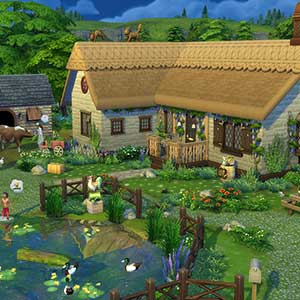 The Sims 4 Cottage Living - Huis