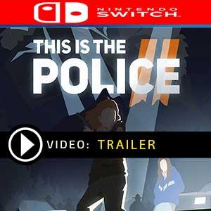 Koop This is the Police 2 Nintendo Switch Goedkope Prijsvergelijke