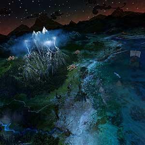 Total War Saga TROY De berg Olympus