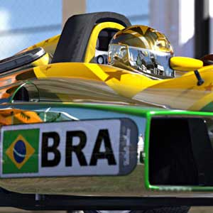 TrackMania 2 Stadium - Brazil Race Car