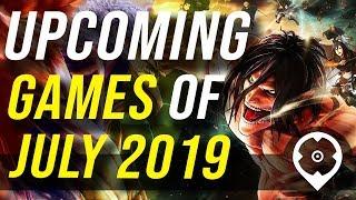 Komende Games van juli 2019