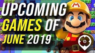 Komende games van juni 2019