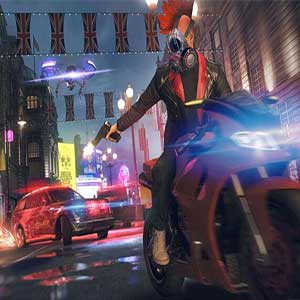 Watch Dogs Legion Autoachtervolging