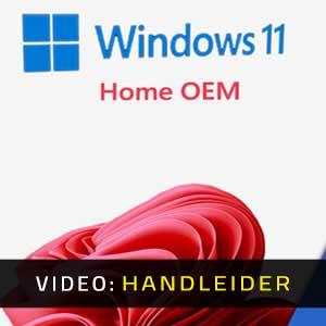 Windows 11 Home OEM Video-opname