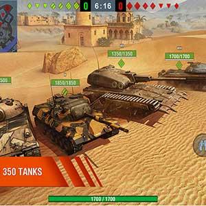 enorme tanks