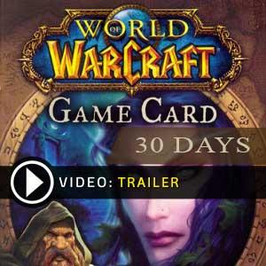 Koop World of Warcraft 30 Dagen GameCard Code Compare Prices