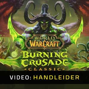 World of Warcraft Burning Crusade Classic Video-opname