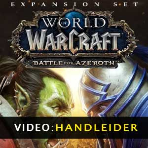 WoW Battle for Azeroth Expansion aanhangwagenvideo