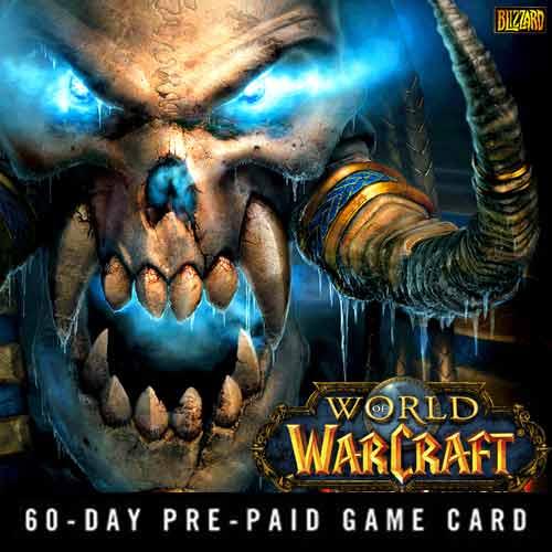 Koop World Of Warcraft 60 Dagen GameCard Code Compare Prices