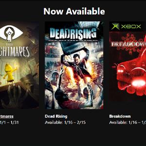 XBOX LIVE GOLD Gratis spelletjes