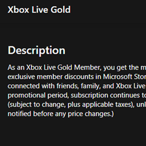 Xbox Live Gold Membership 12 Months Subscription Beschrijving