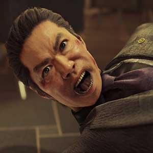 Yakuza als een Dragon Kamuro Politiebureau